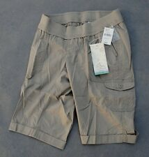 NWT $44 Oh Baby by Motherhood Maternity Underbelly Cargo Bermuda Shorts Size S