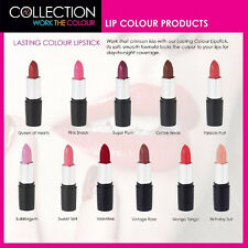 Unique Collection Lipstick Bright Bold Gothic Nude Pink Red Coral Plum Spring