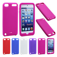 Colorful Soft Slim Silicone Gel Skin Case Cover For Apple iPod Touch 5 5th Gen