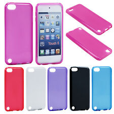 Soft Rubber Gel Silicone TPU Case Cover Hard Skin for Apple iPod Touch 5 5th Gen