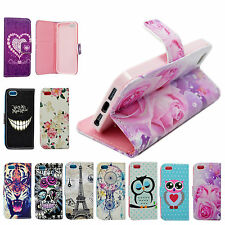 Stand Wallet Design Flip PU Leather Silicone Case Cover For Apple iPhone Models