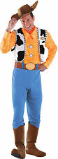 Disney Toy Story Woody DELUXE Adult Costume Fancy Dress Up Book Week Halloween