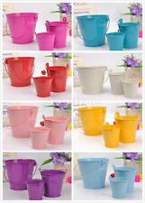 Mini Cute Pail Bucket Style Candy Sweet Gift Box Wedding Party Gift Favor Filler