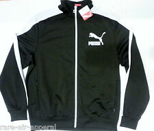 PUMA Heroes T7 TRACK BLACK/WHITE MENS  ZIP JACKET XL