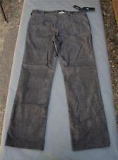 NWT $88 Rock & Republic Neil Straight Brown Stretch Corduroy Pants Various Sizes