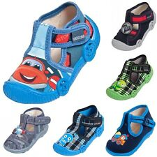 BOYS CANVAS SHOES INFANT TODDLER CASUAL SANDALS TRAINERS UK 3 4 5 6 7 8 BLUE