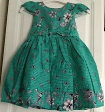 Girls Paisley Dress, 2-7 years, BNWT, fully lined with net petticoat