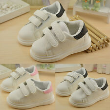 New Baby Toddler Velcro Sneaker Low Top Boys Girls Flats Kids  Baby Shoes Casual