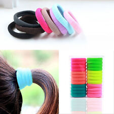 New High Quality 10pc Elastic Rope Ring Hairband Women Hair Band Ponytail Holder