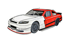 High Quality Racing Race Car Vinyl Decal Sticker - Car Home Truck Cooler Boat RV