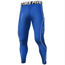 Take Five Mens Skin Tight Compression Base Layer Running Pants Leggings 054