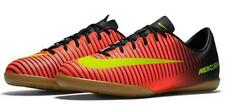 Nike JR Mercurial Vapor XI IC Youth Indoor Soccer Football Shoes Crimson/Blk 06