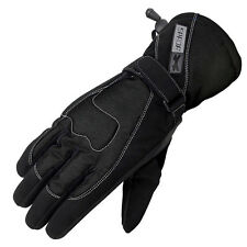 Spada Street WP Ladies Leather & Textile Waterproof Motorbike Motorcycle Gloves