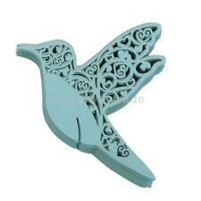 50pcs vintage Bird Glass Place Cards Wedding Party Table Decoration 3 Colors