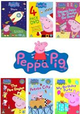 Peppa Pig DVDs - Choose! Holiday, Birthday Party, Christmas, Bubbles DVD **New**