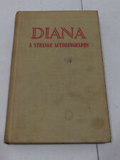 Diane A Strange Autobiography by Diana Frederic 1939 LGBT Lesbianism? Rare