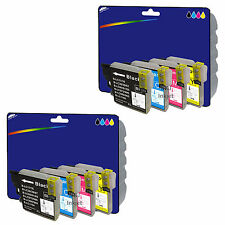 Choice of Any 8 Compatible Printer Ink Cartridges for Brother LC985 Range