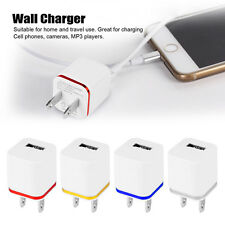 5V 1/2/4-Port USB Wall Adapter Charger US/EU Plug For Samsung S4 5 6 7 iPhone 6