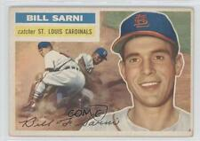 1956 Topps #247 Bill Sarni St. Louis Cardinals Baseball Card 0w1