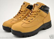 LABO Men's Tan Hiking Trail Casual Winter Work Boots Shoes Genuine Leather 561