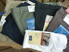 DOCKERS Mens Comfort fit Pants ORIGINAL KHAKI No Wrinkles Permanent Crease SALE
