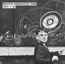 GREATER MANCHESTER PUNK 1977-81  LP  CLEAR VINYL &  PUNK FANZINE  V2  FAST CARS