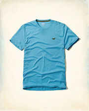 GENUINE HOLLISTER MENS CLASSIC MUSCLE MUST HAVE CREW NECK T SHIRT SLIM FIT BNWT