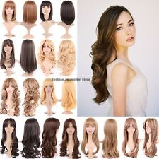 Cheap Price Ladies Wig Cosplay Full Wigs Cap Hair Nets Fancy Dress Costume Party
