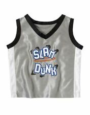 Nwt Gymboree Slam Dunk Gray Basketball Tank Top Size 6-12/12-18 Months