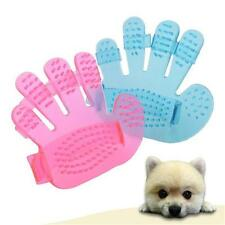 hand Pet GROOMING Glove Massage Brush-Removes hair/Cats/Dogs/Pets Charity Useful