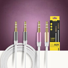 3.5mm Male to Male Cord Aux Audio Stereo Cable For iPod MP3 Car Gold-Plated Lot