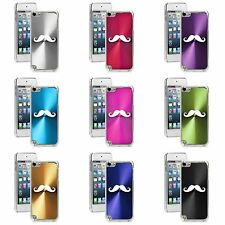 Apple iPod Touch 5th 6th Generation Hard Case Cover Mustache
