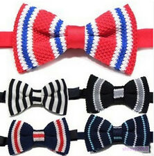 50X Wholesale NEW Mens Classic Knit Knitted Bow Tie Bowtie Wedding Woven JB0010