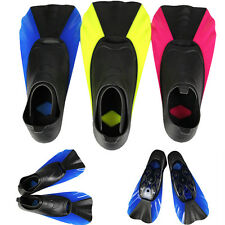 New Popular Scuba Diving Swimming Full Foot Shoes Short Fins Snorkeling Flippers