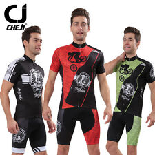 CHEJI Brand Cycling Clothing Kit Mtb Bike Jersey & Shorts Men Cycling Suit Devil