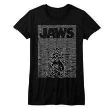 T-Shirts Sizes S-XL New Jaws Jawdivision Womens Juniors Tee Shirt in Black