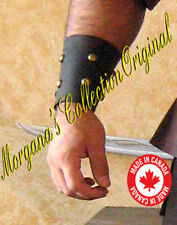 "Medieval Armor Viking Barbarian 4"" Bracers (Studded)"
