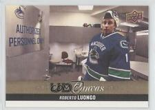 2013 Upper Deck UD Canvas #C89 Roberto Luongo Vancouver Canucks Hockey Card 8z2