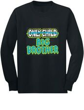 Only Child to Big Brother Birth Announcement Toddler/Kids Long sleeve T-Shirt