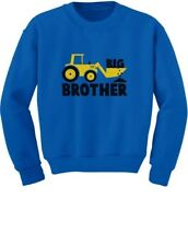 Big Brother Gift for Tractor Loving Boys Toddler/Kids Sweatshirts Announcement