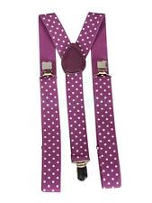Stylish Adult Unisex Adjustable Clip-on Braces Elastic Y-back Suspender New