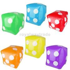 Inflatable Gaint Dice Toys Summer Swimming Pool Party Funny Toys Games Gifts