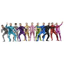 Full Body Spandex Suit Second Skin Bodysuit Zentai One Piece Unitard Fancy Dress