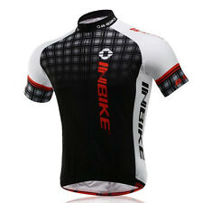 Men's Mountain Bike Jersey INBIKE Team Cycling Shirt Retro Cycling Jerseys S-5XL