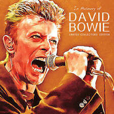 DAVID BOWIE New Sealed Ltd Ed 2016 LIVE PERFORMANCES & INTERVIEWS In Memory CD