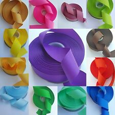 """5 yards of 1 1/2"""" Any Color Solid Grosgrain Ribbon"""