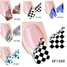 2016 Women's Fashion New Style Pattern French Nail Stickers Nail Art Decorations