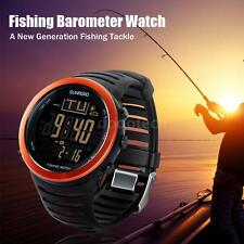 SUNROAD PROFESSIONAL DIGITAL FISHING WATCH BAROMETER ALTIMETER THERMOMETER V1R8