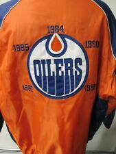 Edmonton Oilers Mens XL 2XL 5 Time Champions Embroidered Winter Jacket EDO 1