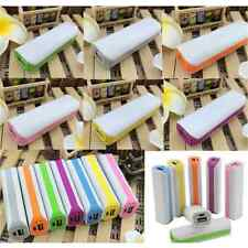 For Phones 2600mAh USB Portable External Backup Battery Charger Power Bank New